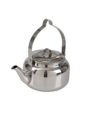 Kaffepanna i rostfritt stål 1L