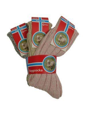 Norge Raggsocka, 3-pack