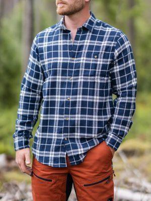 Flanellskjorta, Grön