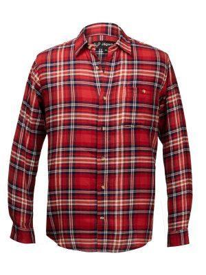 Flanellskjorta, Rödrutig