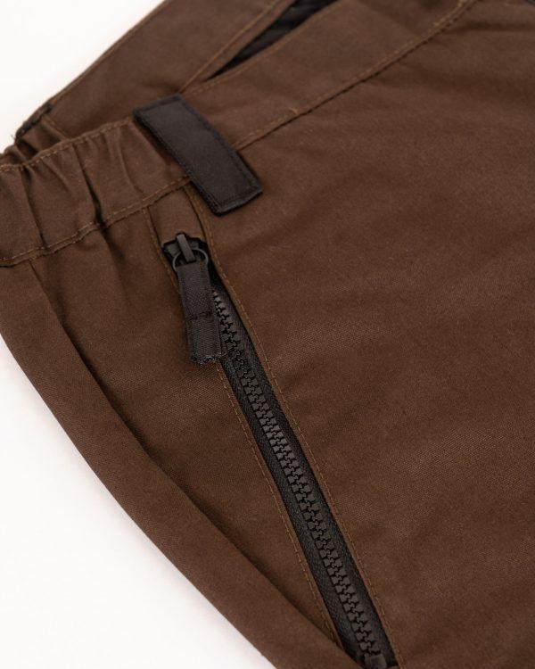 M90 elite militärbyxa, brun